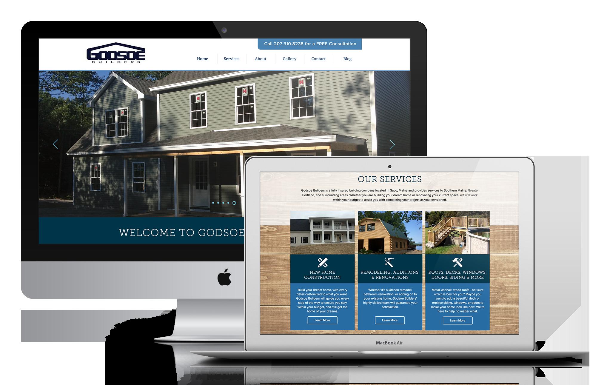 Perspecta Trust Website Design